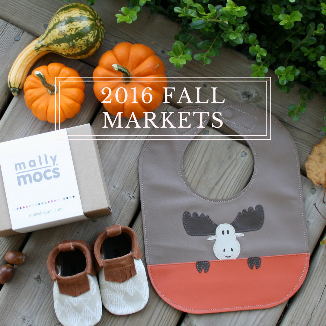 Mally Designs 2016 Fall and Holiday Markets