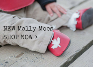Mally Mocs baby moccasins with designs!