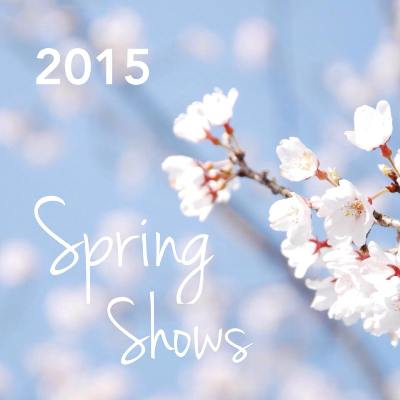 Mally Designs Spring Shows, 2015
