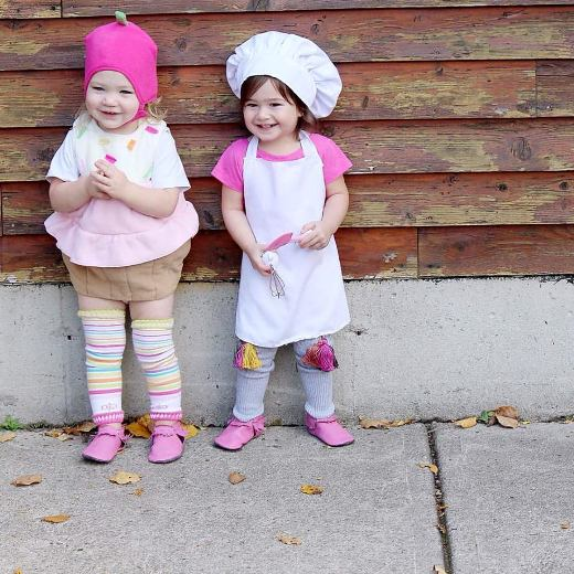 Cupcake and Chef Costumes