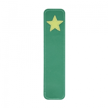 star leather bookmark >