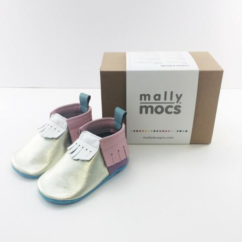 Mally Mocs Unicorn Moccasins
