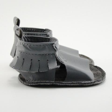 elephant mally mocs sandals with fringe