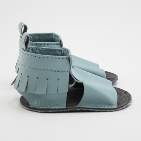 iceberg mally mocs sandals with fringe