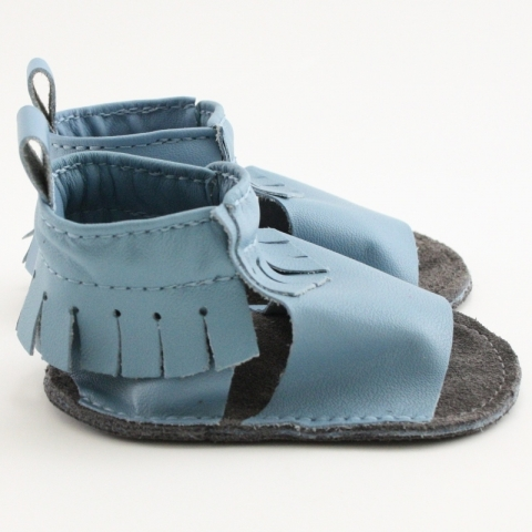 Surf Mally Mocs Sandals with Fringe