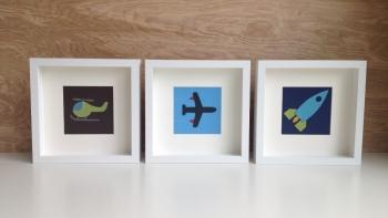 art cards, boys nursery decor