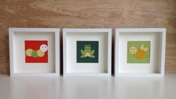 art cards, neutral nursery decor
