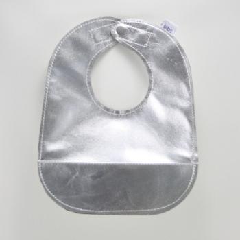 silver bib