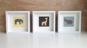 art cards, neutral baby room wall art