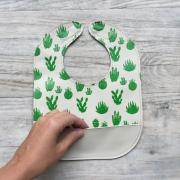Mally Designs X BOOKHOU Cacti Leather Bib