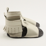 sand mally mocs sandals with fringe
