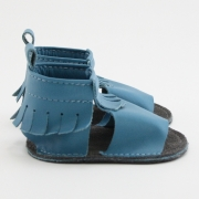 wave mally mocs sandals with fringe