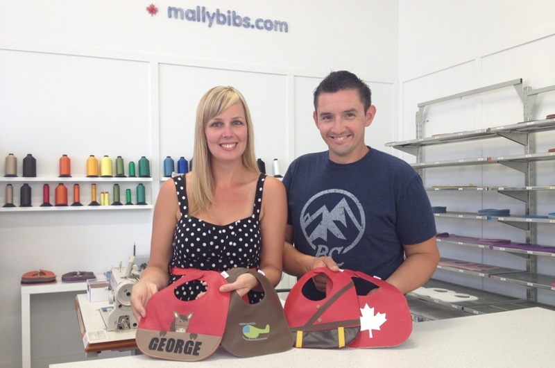 Mally Designs Headquarters + Royal Bibs