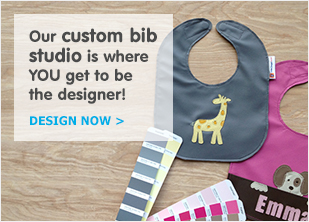 Our Custom Bib studio is where you get to be the designer!