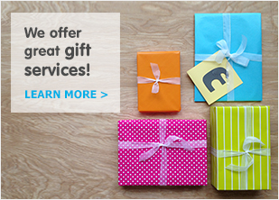 We offer great gift services!